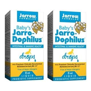 Jarrow Formulas Baby's Jarro-Dophilus 8 ml Liquid Drops (Pack of 2)
