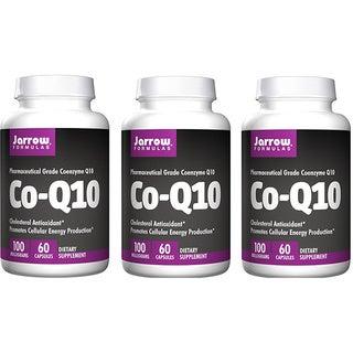 Jarrow Formulas 60 Capsule 100 mg, Co-Q10 60 Capsules (Pack of 3)