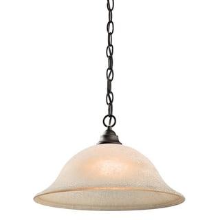 Kichler Lighting Camerena Collection 1-light Olde Bronze Pendant