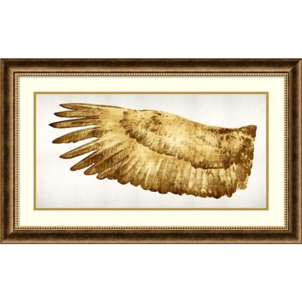 Kate Bennett 'Golden Wing I' Framed Art Print 36 x 22-inch
