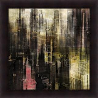 Sven Pfrommer 'Chicago Style 1' Framed Art Print 35 x 35-inch