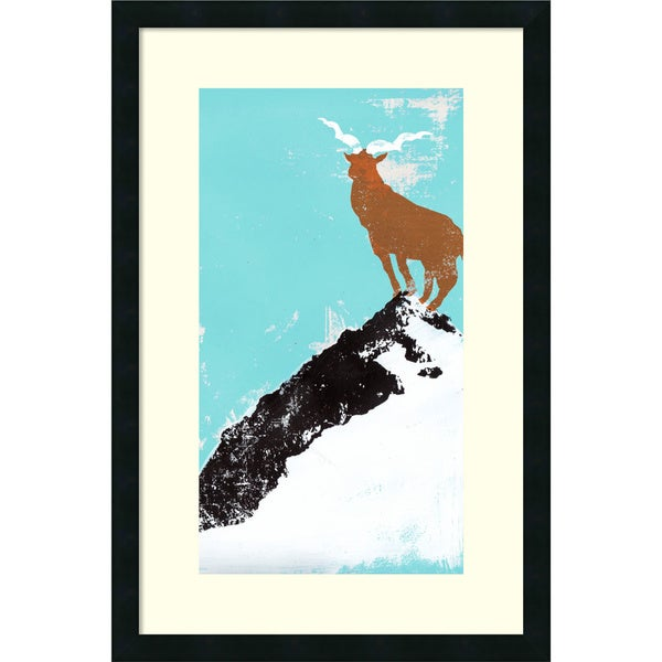 Katie Edwards 'Year of the goat' Framed Art Print 20 x 30-inch