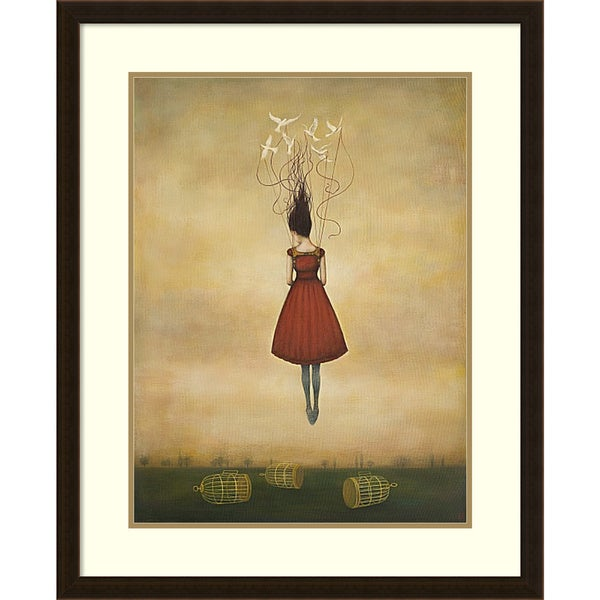 Duy Huynh 'Suspension of Disbelief' Framed Art Print 26 x 32-inch