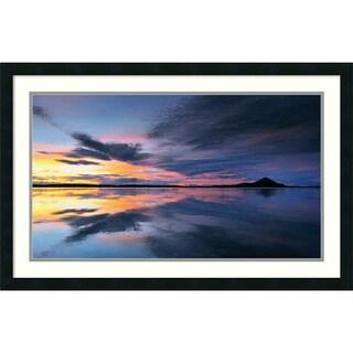 Andy Mumford 'Lake Myvatn Reflections' Framed Art Print 34 x 22-inch