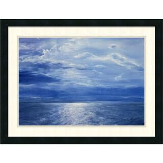 Antonia Myatt 'Deep Blue Sea, 2001' Framed Art Print 26 x 20-inch
