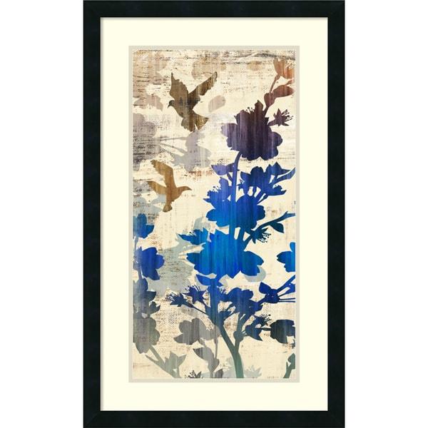 Edward Selkirk 'Wallflower Fantasy I' Framed Art Print 19 x 31-inch