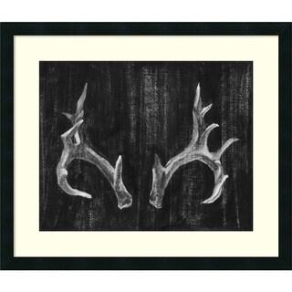 Ethan Harper 'Rustic Antlers I' Framed Art Print 27 x 23-inch