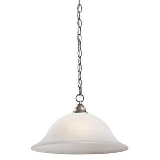 Kichler Lighting Camerena Collection 1-light Brushed Nickel Pendant