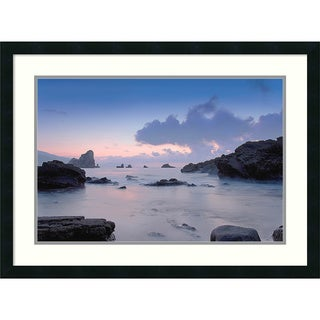 PhotoINC Studio 'Cliffs' Framed Art Print 31 x 23-inch