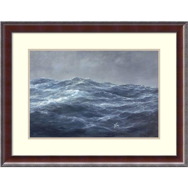 Richard Willis 'The Gull's Way' Framed Art Print 31 x 24-inch