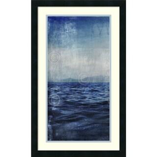 Sven Pfrommer 'Ocean Eleven III (left)' Framed Art Print 18 x 30-inch