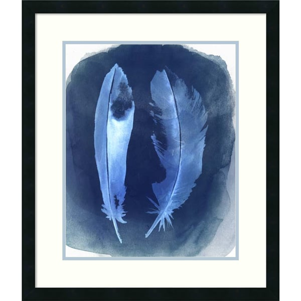 Framed Art Print 'Feather Negatives I' by Grace Popp 24 x 28-inch 16063743