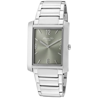 Mens Kenneth Cole Stainless Steel Casual Slim Watch