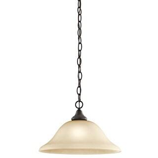 Kichler Lighting Monroe Collection 1-light Olde Bronze Pendant