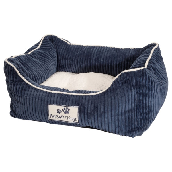 BNF Home Corduroy Applique Pet Bed