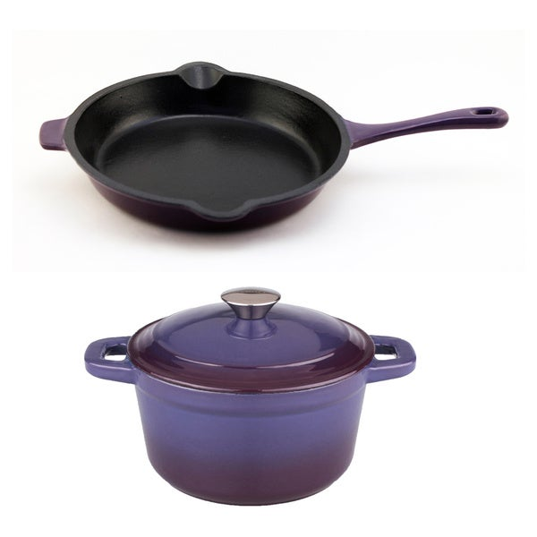 BergHOFF Neo Cast Purple 3-piece Set