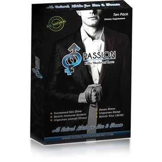 Passion Sexual Enhancement Capsules (Pack of 10)