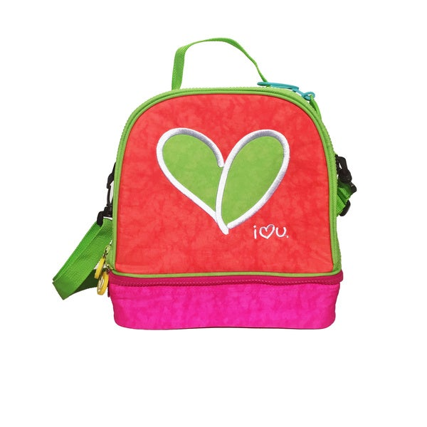 Multi-colored Love Lunchbag