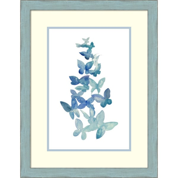 Framed Art Print 'Butterfly Falls I' by Grace Popp 21 x 27-inch 16065751