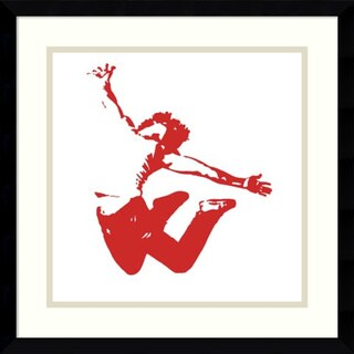 Ethan Harper 'In Motion VIII' Framed Art Print 17 x 17-inch