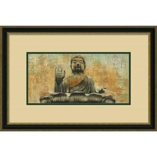 Dario Moschetta 'Buddha the Enlightened' Framed Art Print 25 x 17-inch
