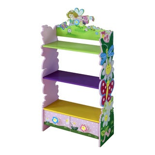 Adorable Kid's Butterfly Dragonfly Bookshelf