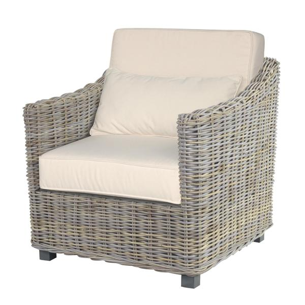 Atascocita Casual Grey Textured Chair