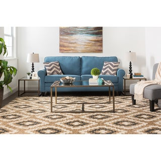 Mohawk Home Calistoga Tempe Diamond Woven Rug (8'x10')