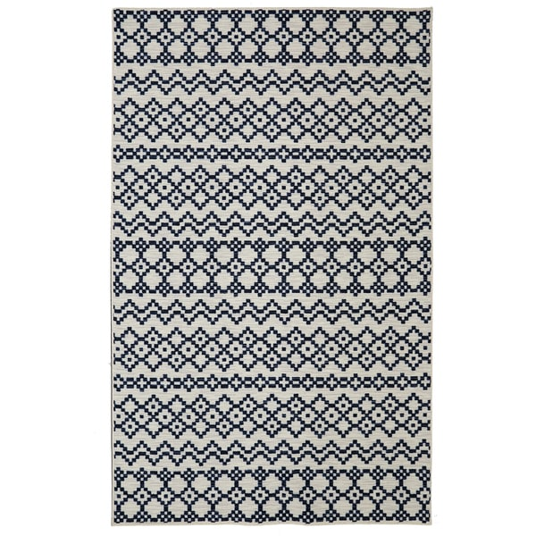 Mohawk Home Loop Print Base Aztec Bands Printed Rug (8'x10')