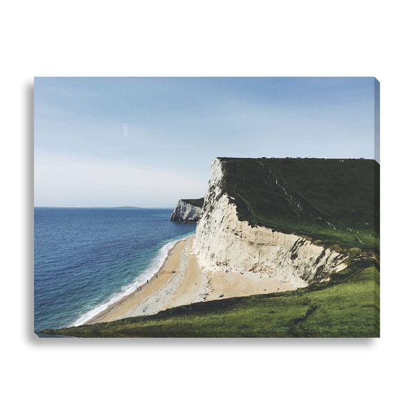 New Era Photography 'White Cliffs' Canvas Gallery Wrap