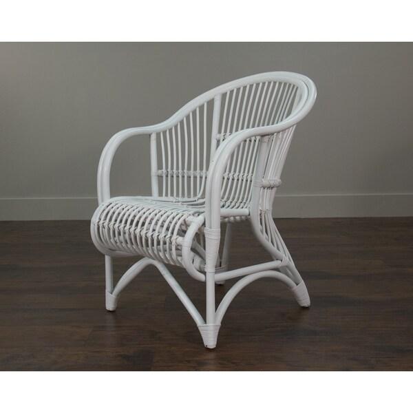 Raymond Rustic White Textured Chair
