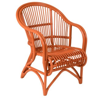 Raymond Rustic Orange Textured Chair