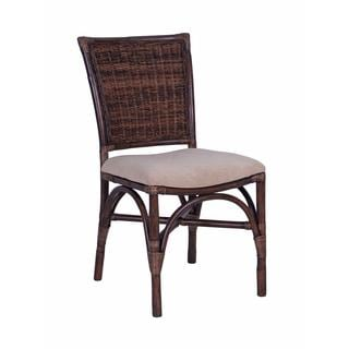 Raymond Transitional Brown Polished Chair