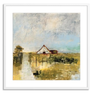Gallery Direct Jane Bellows 'Traveling Field I' Paper Framed