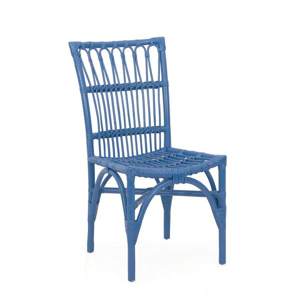 Redmond Rustic Blue Painted Chair