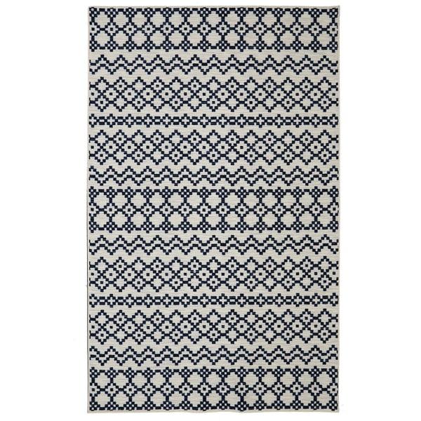 Mohawk Home Loop Print Base Aztec Bands Printed Rug (5'x8')