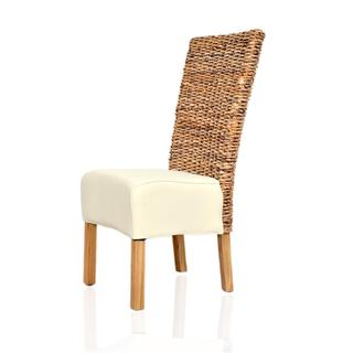 Richland Contemporary Tan Cotton Chair