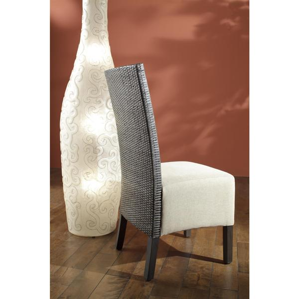 Arbor Transitional Green Textured Chair