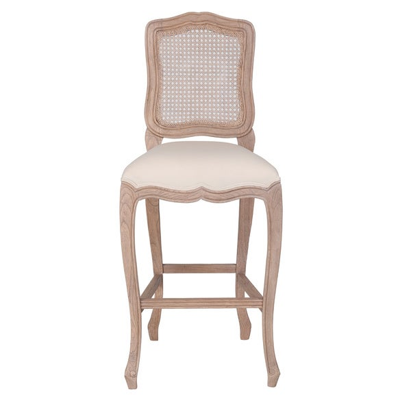 Antioch Antique Off-White Natural Chair