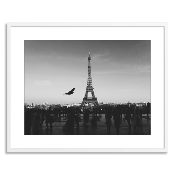 New Era Originals 'The Eiffel Tower' Paper Framed