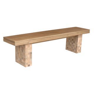 Kamloops Contemporary Tan Bench