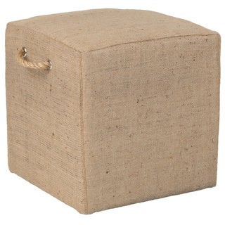 Saanich Traditional Tan Jute Stool