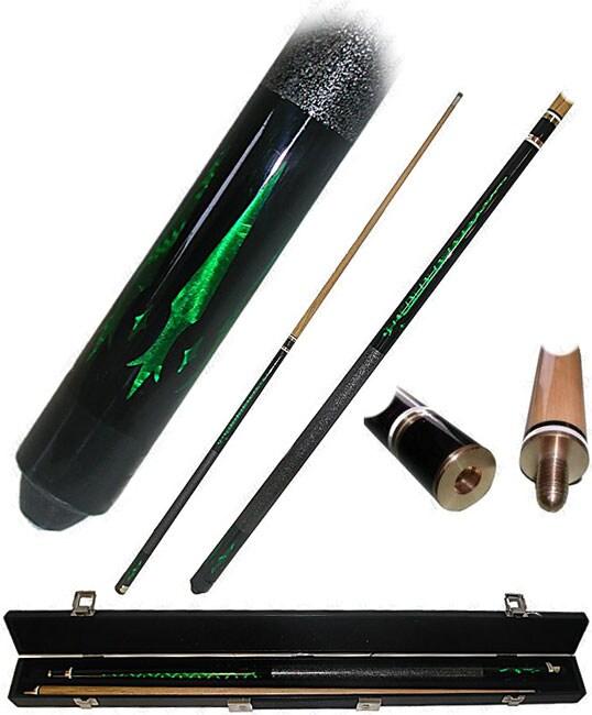 Emerald Green Designer Wooden Pool/Billiard Stick (58 Inches)