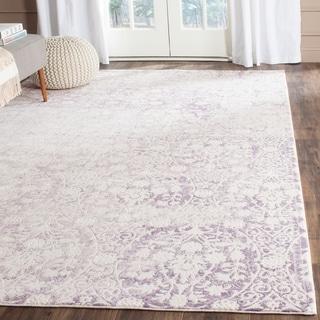 Safavieh Passion Lavender/ Ivory Rug (4' x 5'7)