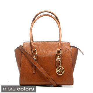 Emilie M Morgan Detachable Shoulder Strap Satchel