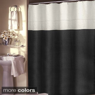 Grand Luxe Pacifica 100-percent Linen Shower Curtain