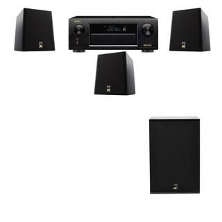 M&K Sound S150II Loudspeaker 3.1 X12 Denon AVR-X5200W