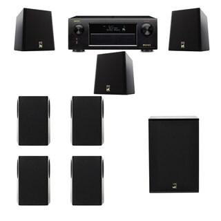 M&K Sound S150II Loudspeaker 7.1 X12 Denon AVR-X5200W