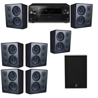 M&K Sound MP300 Monitor Speaker 7.1 X12 Pioneer Elite SC-89
