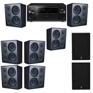 M&K Sound MP300 Monitor Speaker 7.2 X12 Pioneer Elite SC-89